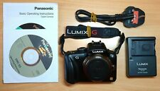 Cámara Digital Panasonic LUMIX DMC-G De 16.0 MP-Negra (solo Cuerpo) #3578