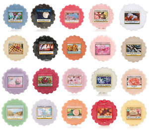 Yankee Candle Wax Melts Tarts Scented Fragrance Candles Melt Tart Variety