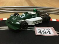 Scalextric Car Vintage F1 March Ford No10 C129 New Tyres 1:32 Slot Car Lot 486