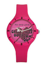 "montre ado LULU CASTAGNETTE ""pix and love"" - rose - neuve"