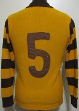 Vintage 1980s VFL Hawthorn Brandella Football Guernsey Jumper Jersey #5