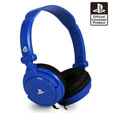 PS4 Gaming Chat Headset with Mic BLUE Officially Licensed PRO4-10 (PS4 & Vita)