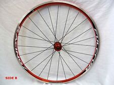 Fulcrum Racing 7 REAR wheel only, 130mm hub spacing, in EXCELLENT cond RED color