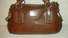 AUTH.  MICHEAL  KORS  ALL LEATHER ESPRESO HANDBAG & WALLET $475 RETAIL