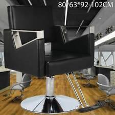 Adjustable Black Hydraulic Barber Hair Salon Chair Hairdressing Beauty Office UK