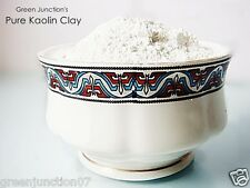 Green Junction's All Natural White Kaolin Clay ( 1 kg)  in Bag (Value for Money)