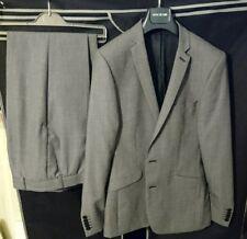 mens ben shermen suit grey 38L trousers 36L A S NEW