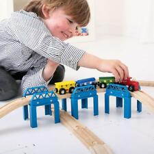 RAISED TRACK SUPPORTS  for Wooden Train Railway Set (Brio Thomas) ~ NEW BOXED