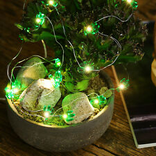 30 Lights Green Cactus Shape Battery Box Model girl room Decorative Strip Light