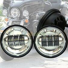 2Pcs 4.5Inch LED Auxiliary Spot Fog Passing Light for Harley Davidson Motorcycle