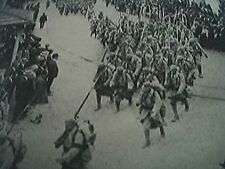 book picture - ww1 world war one - 1915 - - salonika greeks welcome the allies