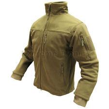 Condor Tan #601 Tactical Hunting Polyester ALPHA Micro Fleece Jacket 3XL XXXL