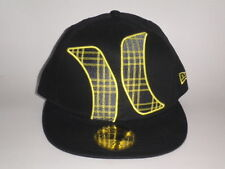 New Era 59Fifty Hurley TOWNSER Hat Yellow Black 7 3/8 ($35) Cap Skate Surf 5950