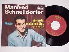 """MANFRED SCHNELLDORFER -Mizzie- 7"""" 45"""