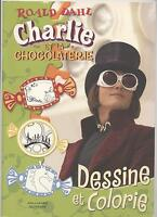 New Book Draw and Colour Drawing Colouring Art Charlie the Chocolate Factory