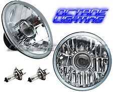 "7"" Halogen 24V Semi Sealed Beam Crystal Headlight Projector Bulb H4 24 Volt Pair"