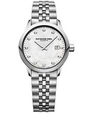 Raymond Weil 5629-ST-97081 Womens Freelancer Diamond Mother of Pearl Dial Watch