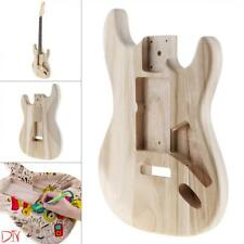 Maple Guitar Barrel Body Polished Punched for ST Electric Guitar DIY Painting