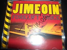 Jimeoin ‎– Forklift Truck Signed Autographed CD – Like New
