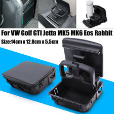 Rear Armrest Cup Holder Central Console For VW Golf GTI Jetta MK5 MK6 EOS  IT
