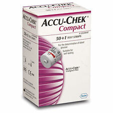Accu-Chek Compact 51 Test Strips For Compact PLUS Meters Health Care Stip