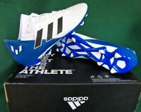 New ADIDAS UK9.5/10/10.5 Nemeziz MESSI 18.3 FG Blue White FOOTBALL BOOTS Sml Fit