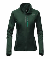 THE North Face Women's fuseform Dolomiti Full-Zip Fleece Jacket ABETE VERDE M