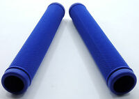 Velo Road Bike Drop Bar/Kick Stunt Scooter Long Grips, Blue