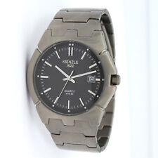 KIENZLE 1822 Herren- Armbanduhr aus TITAN sehr flach und elegant mit Datum