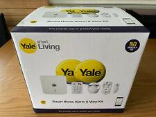 Yale Smart Home Alarm & View Kit SR-330 Wireless Burglar Alarm * NEW SEALED * C