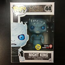 Funko POP Game of Thrones Night King Glow in the Dark GITD GameStop Exclusive