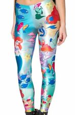 Disney Little Mermaid Polyester/Spandex Womens Leggings
