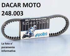 248.003 CINGHIA VARIATORE POLINI BENELLI  491 50 RR-RACING-SP-SPORT - K2 50