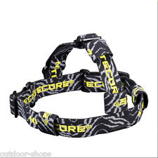 Nitecore HB02 Headband Elastic Nylon CR123A 18650 headlamp Flashlight Headband
