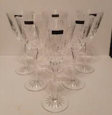 6 Boxed Edinburgh Crystal/Thomas Webb Finest Crystal Romeo Large Wine Glasses.