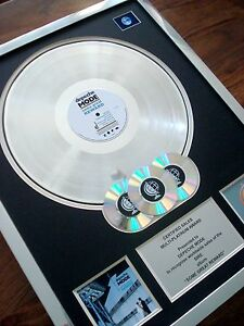 Depeche Mode Some Great Reward MULTI PLATINUM DISC LP Record Award