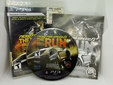 Need for Speed: The Run -- Limited Edition (Sony PlayStation 3, 2011) See Pics!