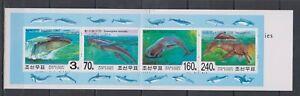 F466. Korea - MNH - Marine Life - Whales - Booklet