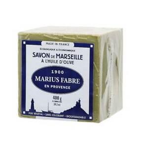MARIUS FABRE Angebot 3PZ Würfel Marseille Seife 200GR Grün Zubehör Sauberkeit