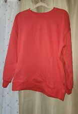 NWOT Lululemon Perfectly Oversized Crew In Carnation Red Size 6