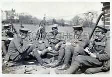 DVD SCANS OF WW1 PHOTO ALBUM LONDON RIFLE BRIGADE  AT HAYWARDS HEATH 1915