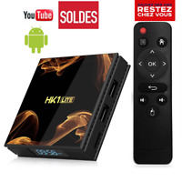 HK1 Mini Android 9.0 Smart TV Box 2GB 16GB WiFi 4K Android Smart TV récepteur