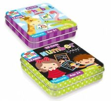 Number and Alphabet 26 Cards Snap Educational Toys Learn & Playing Cards In Tin