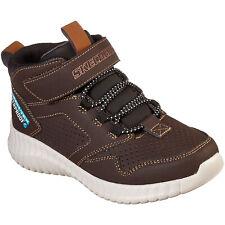 Skechers Elite Flex Hydrox Jungen Waterproof Sneaker dunkelbraun (chocolate)