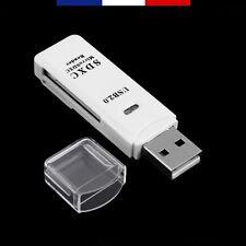 LECTEUR USB 2.0 POUR CARTE MÉMOIRE MICRO-SD/SDHC/SDXC - SD/SDHC/SDXC - MMC