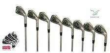 "CADET -1"" STIFF MENS ACER XK SERIES IRON SET 3-9 IRONS+PW:STAINLESS STEEL HEADS"