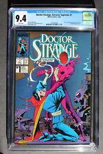 DOCTOR STRANGE Sorcerer Supreme #1 vs DORMAMMU 1988 DD FF Hulk X-Men CGC NM 9.4