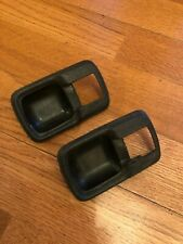 VW t3 vanagon porsche 924 audi 100 MK1 RABBIT INTERIOR BLACK DOOR HANDLE TRIM OE