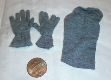 Alert Line German gloves and toque 1/6th scale toy accessory