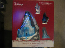 NEW DEPT 56 Frozen Holiday Gift Set Disney Pre-Lit Frozen Figurine Department 56